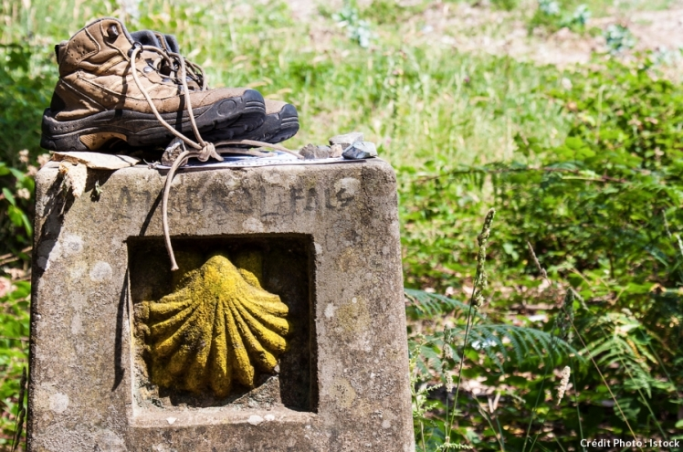 det_coquille-chaussures-saint-jacques-compostelle_istock